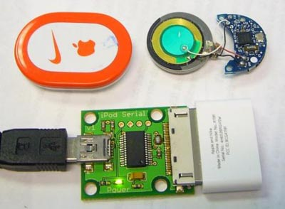 ifob  Keyless Entry for Door Using Hacked Nike+iPod Kit