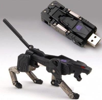 transformer Transformers Ravage USB Flash Drive Really Transforms