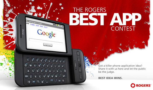 androidapp  Best Android App Contest from Rogers Wireless