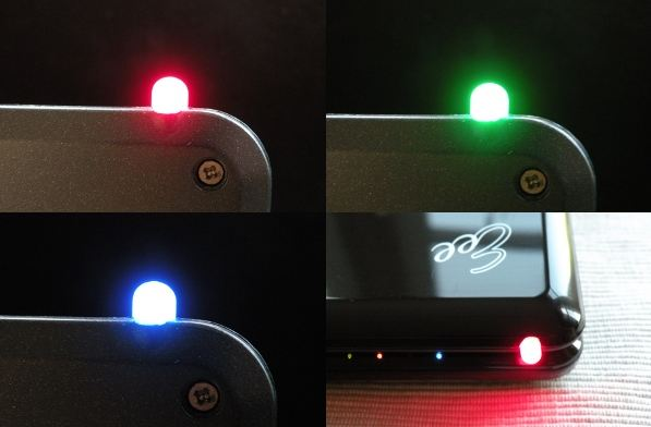 eeelight  Eee PC Outfitted with BlackBerry-Like Indicator Lights