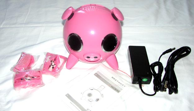 REVIEW - Speakal iPig iPod Speaker Dock