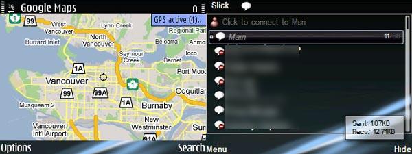 Google Maps and Slick IM