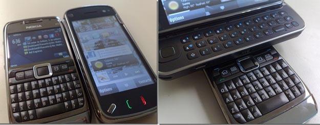 Nokia E71 vs Nokia 97