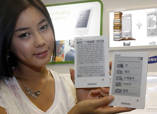 Papyrus Reborn as Samsung SNE-50K E-Book Reader