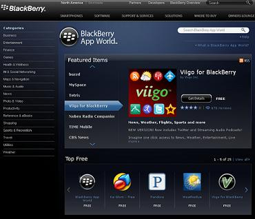 bbapp  Surf the BlackBerry App World on Your Computer