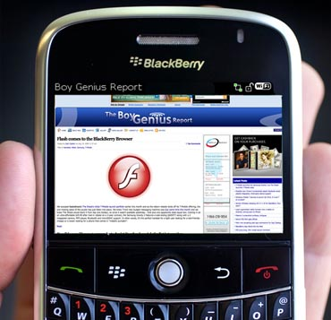 blackberryflash  BlackBerry Getting Support for Silverlight and Full Flash