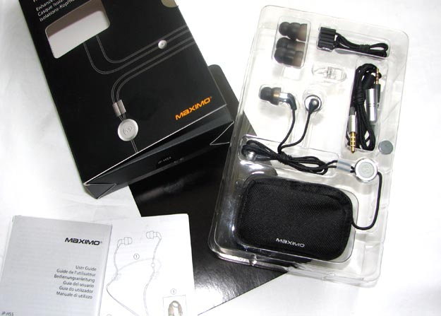 REVIEW - Maximo iMetal iP-HS5 Isolation Headset