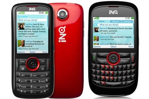 INQ Mini and INQ Chat Offer Smartphone Look in Non-Smartphone Package