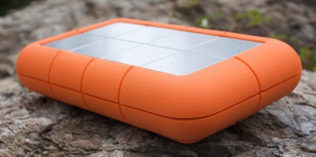 LaCie 1TB External Hard Drive is Big, Rugged... and Big