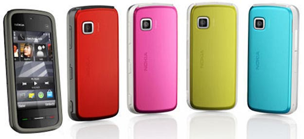 noktouch  Nokia 5230: Cheap Colorful Touchscreen Phone