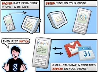 Google Sync Extends to Gmail Push, Including iPhone