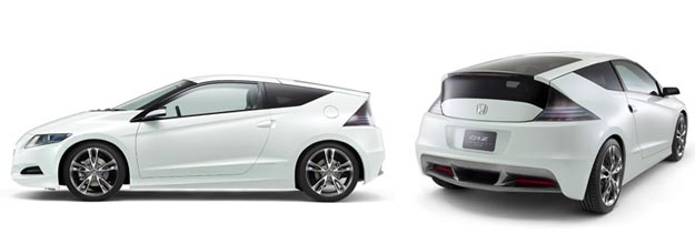 honda Honda CR-Z Hybrid Hatchback Almost Production Ready