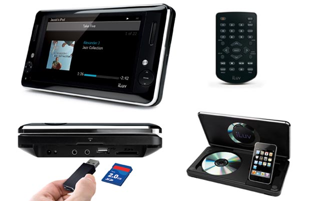 iLuv i1166 Portable Multimedia Player Launches Next Month