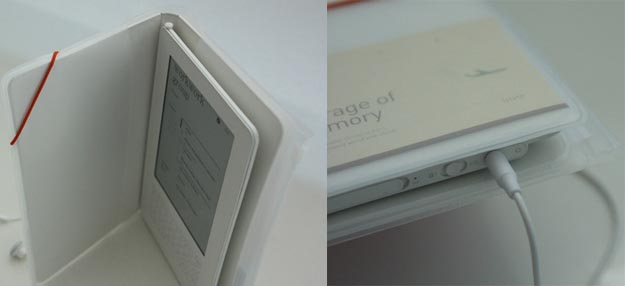 iriver  iRiver Story Enters E-Book Arena Without Wireless