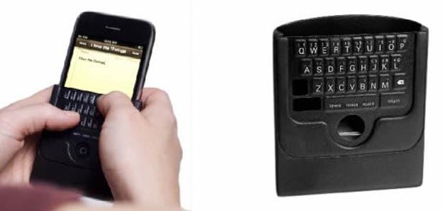 Finally, a Tactile Keyboard for the Apple iPhone