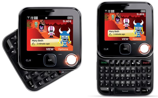 Verizon Shouts with Nokia 7705 Twist Feature Phone
