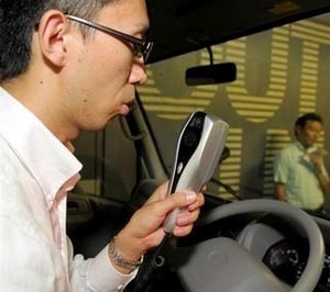 Toyota Targets Drunk Driving with In-Car Breathalyzers