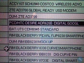 Verizon Getting Android-Powered HTC Desire 6200 Smartphone?
