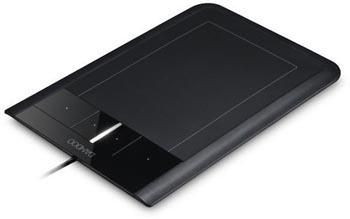 Wacom Bamboo Touch Tablet Works with Multi-Touch Gestures Too