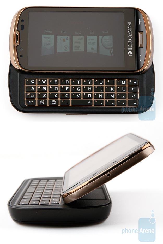 armani  Samsung Giorgio Armani with Windows Mobile 6.5