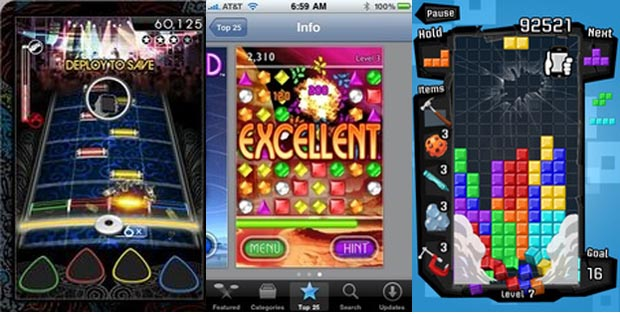 Top-Selling iPhone Games from the App Store