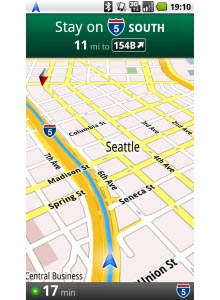 Google Maps Navigation for Android Announced