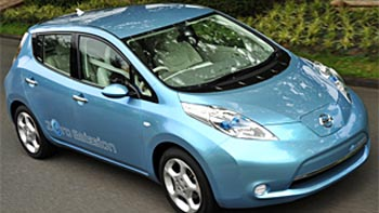 BC to Get Nissan Leaf Electric Car in 2011