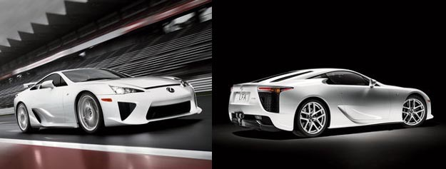 Lexus LFA Production Specs and Images Released