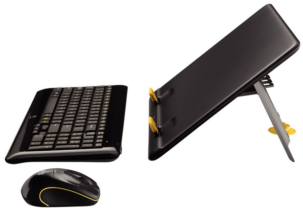 Logitech MK605 Kit Converts Notebook to Desktop