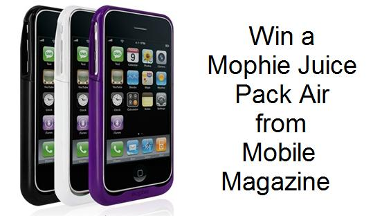 CONTEST: Win a Mophie Juice Pack Air for Apple iPhone 3GS