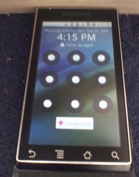 Motorola Sholes/Tao Becomes Motorola Droid for Verizon
