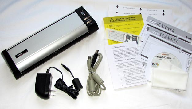 REVIEW - Plustek MobileOffice D28 Scanner