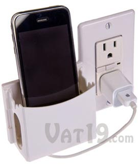 socket  Keep Your Wall Charging Organized with Socket Pocket