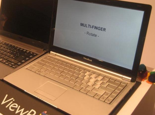 ViewSonic ViewBook Ultraportable Notebooks Revealed
