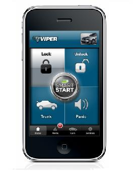 viper Viper App Starts Your Car with the iPhone