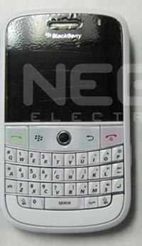 AT&T to Launch BlackBerry Bold in White
