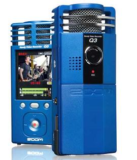 zoomcam Zoom Q3 Handy Video Recorder Starts Shipping