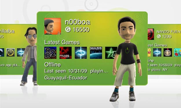 Xbox Live Hits Apple iPhone with Coverflow