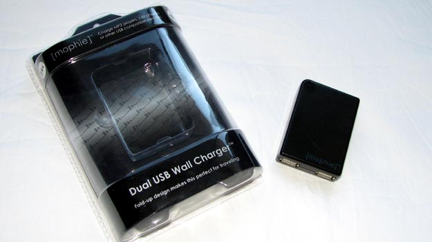 REVIEW - Mophie Dual USB Wall Charger