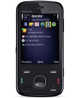 nokia  Rogers Starts Selling Nokia N86 8MP Camera Phone