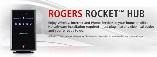 Rogers Rocket Hub Provides Data, Voice for 15 People