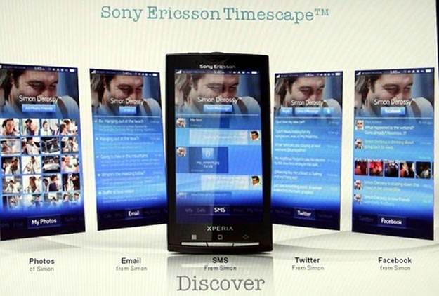 Custom Android UI Named Sony Ericsson Nexus