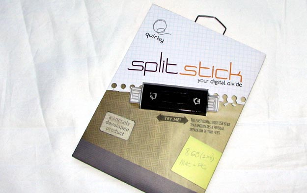 splitstick-1 REVIEW - Quirky Split Stick USB Flash Drive