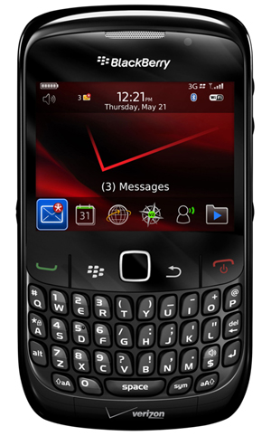 BlackBerry Curve 8530 Hits Verizon and Sprint
