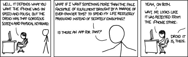 XKCD Settles iPhone vs. Droid Debate
