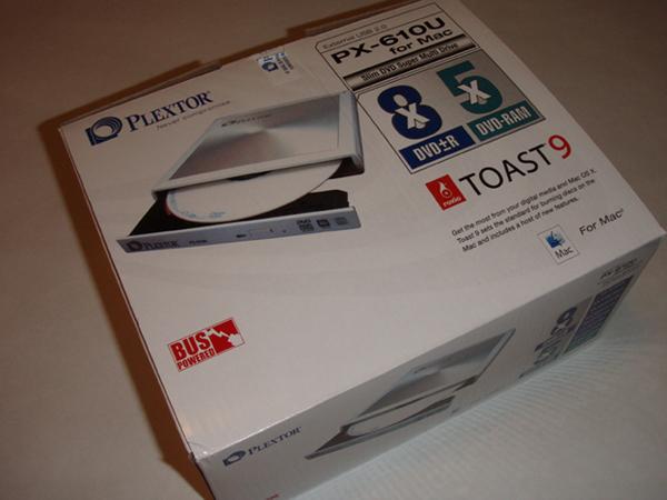 PlextorMac Plextor PX-610U Super Multi Drive for Mac