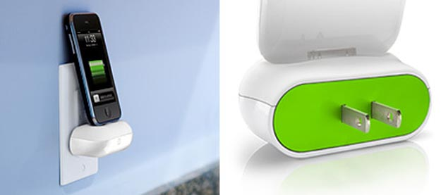 DLO WallDock Charges iPhone Without Wires