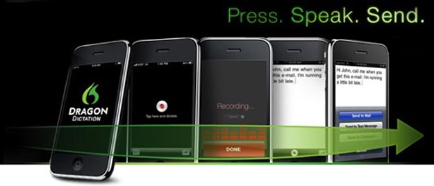 dragoniphone  Speech-Based Text Messages with Dragon for iPhone