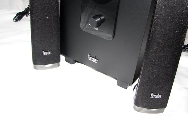 hercules-5 REVIEW - Hercules XPS 2.1 40 Slim Speaker System