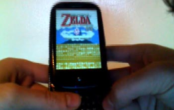 Nintendo Game Boy Emulator Hits Palm Pre Smartphone